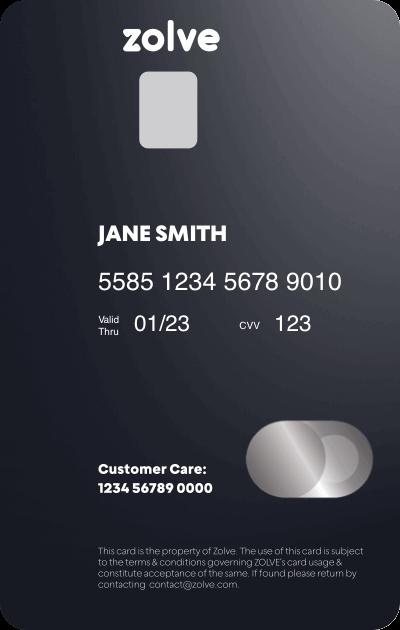 Apply Zolve Credit Card